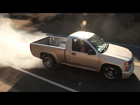 0 Canyon Arrow: Turbocharged GMC Pickup is Trucking Absurd [Video]