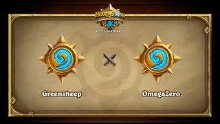 OmegaZero vs greensheep, game 1