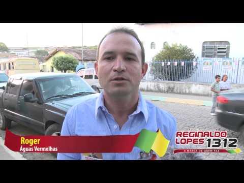 Águas Vermelhas apoia Reginaldo Lopes Roger