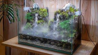 Video Making an Aquaterrarium with two flowing waterfalls MP3, 3GP, MP4, WEBM, AVI, FLV Agustus 2019