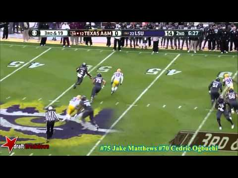 Mike Matthews vs LSU 2013 video.
