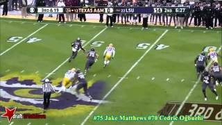 Jake Matthews vs LSU (2013)