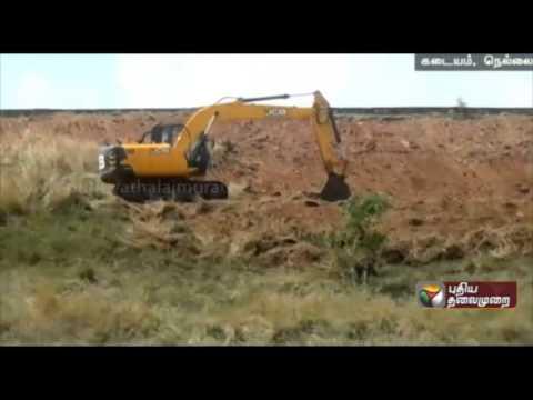 Farmers-request-to-fasten-desilting-works-in-Ramanadhi-dam