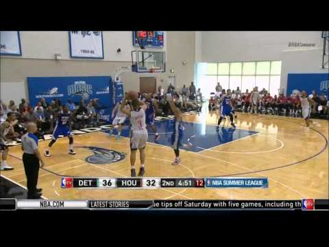 Nick Johnson hits a three in Orlando Summer League