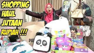 Video SHOPPING HAUL 2018 - SAMPAI JUTAAN RUPIAH!!!! MP3, 3GP, MP4, WEBM, AVI, FLV Maret 2019
