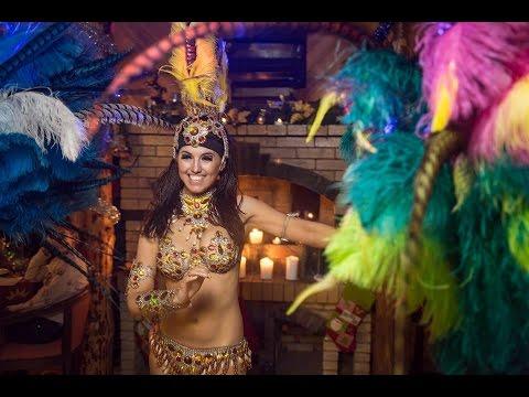 Видео бразильское шоу Crazy Samba