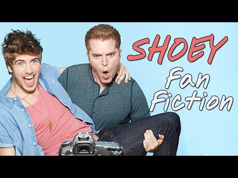 SHOEY Fan Fiction%21%21 Shane Dawson %26 Joey Graceffa On Set%21