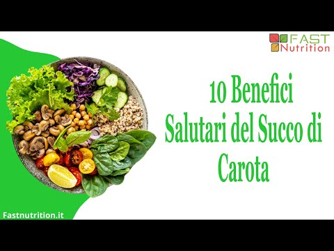i 10 benefici salutari del succo di carota!
