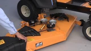 6. How to Change the Blades on RZT Zero-Turn Riding Mowers