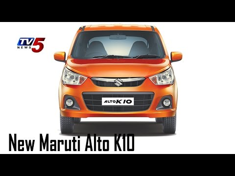 Maruti Suzuki New Alto K10 Test Drive | Speedometer : TV5 News