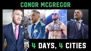 The highlights of the McGregor Mayweather world tour. Conor looks to beat Floyd Mayweather on August 26th in Las VegasMusic by https://soundcloud.com/notizeofficial