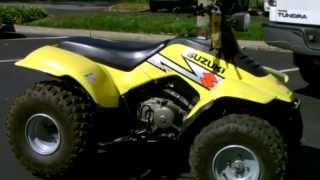 8. Contra Costa Powersports-Used 2004 Suzuki LT160 Quadsport 2WD ATV Quad age 16 & over