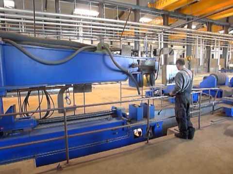 Zgrzewarka doczołowa HAEUSLER Clamp Shell assembling & welding unit 2007