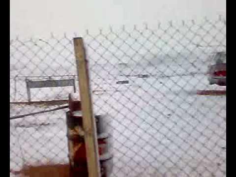 الثلج في مدينة عرعر 1429 هــ