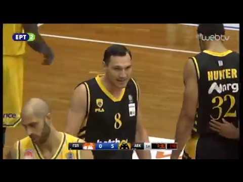 06Οκτ2018 – Basket League 2018-2019: ΠΕΡΙΣΤΕΡΙ – ΑΕΚ 83-80 | ΕΡΤ