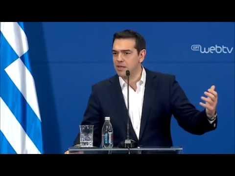 Κοινές δηλώσεις του Πρωθυπουργού Αλέξη Τσίπρα με τον Πρωθυπουργό της Σερβίας