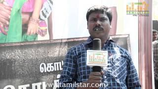 Kannaiya Pushparaj at Kottampatti Thodakka Palli Movie Launch