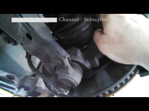 Hub wheel bearing assembly replacement Pontiac Grand Prix 2007