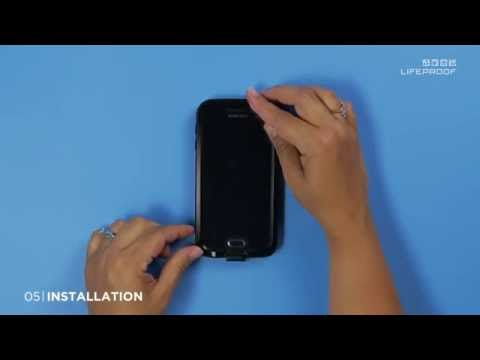 Install Guide for the LifeProof FR? for Galaxy S6