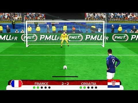PES | FINAL Penalty Shootout France vs Croatia | FIFA World Cup 2018 | Gameplay PC