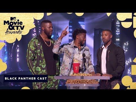 'Black Panther' Wins Best Movie | 2018 MTV Movie & TV Awards (видео)