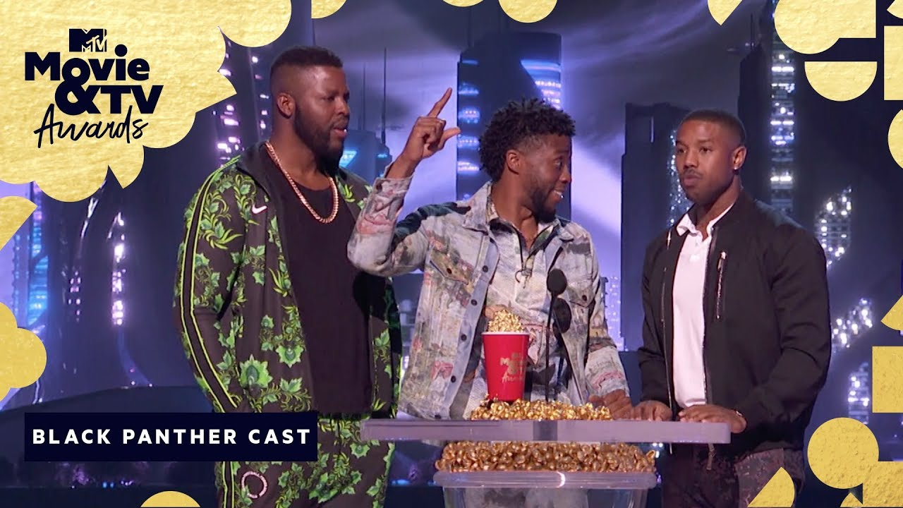'Black Panther' Wins Best Movie | 2018 MTV Movie & TV Awards