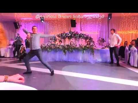 კავკასიური ბალადა ქორწილში  qartvelebis cekva chchnur qorwilshi - kavkasiuri balada (видео)