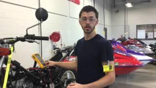 10. 2013 Yamaha XT 250 Starting System