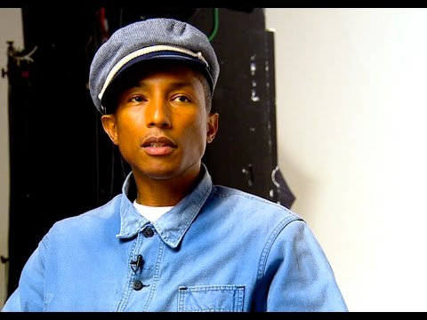 Pharrell Williams talks sustainable fashion on Top Billing