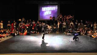 LCL LOCKDOWN 2014 LOCKING TOP 28 - THELMA VS FUNKY LOCO