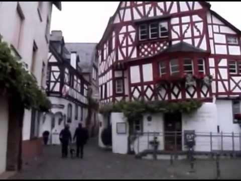 Sparziergang in Ediger - Eller durch den schönen Ort an der Mosel (видео)