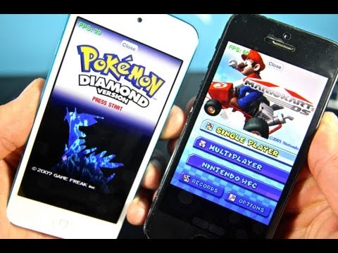 emulator - NO Jailbreak Required Nintendo DS Emulator For iPhone, iPod Touch & iPad Running iOS 7, 6.1.4, 6.1.3, 6.1.2 & Below! Works fairly good on most games but will...