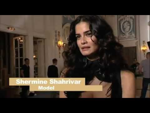 BAMBI: Shermine Sharivar bei Schwarzkopf