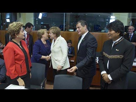 Με διαδηλώσεις ξεκίνησε η Σύνοδος ΕΕ- Λατινικής Αμερικής