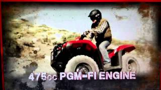 4. 2014 TRX500 Foreman / 2014 TRX420 Rancher ATV Introduction Review - Honda of Chattanooga