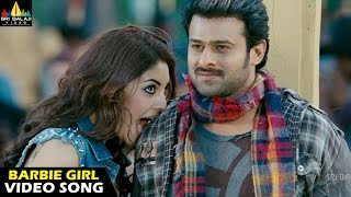 Barbie Girl Song Lyrics from Mirchi -  Prabhas