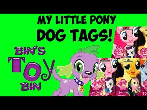 tags - We take a look at some of the new blind bag Dog Tags from Enterplay featuring all your favorite characters from My Little Pony: Friendship is Magic! There ar...