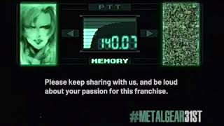SniperWolf Video Celebrating Metal Gear 31st voiced by Tasia Valenza