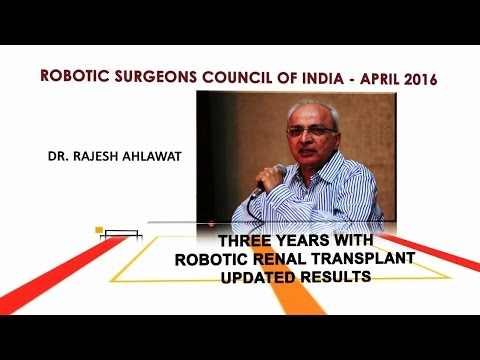 Three Years With Robotic Renal Transplants-Updated Results