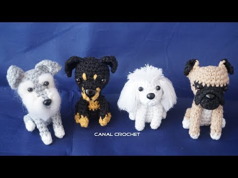 Perritos Amigurumi Tutorial