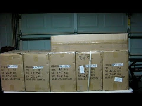 Airsoft - BIGGEST AIRSOFT UNBOXING EVER ON YOUTUBE!!!!!