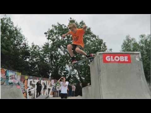 I Skated with Chris Haslam!!!
