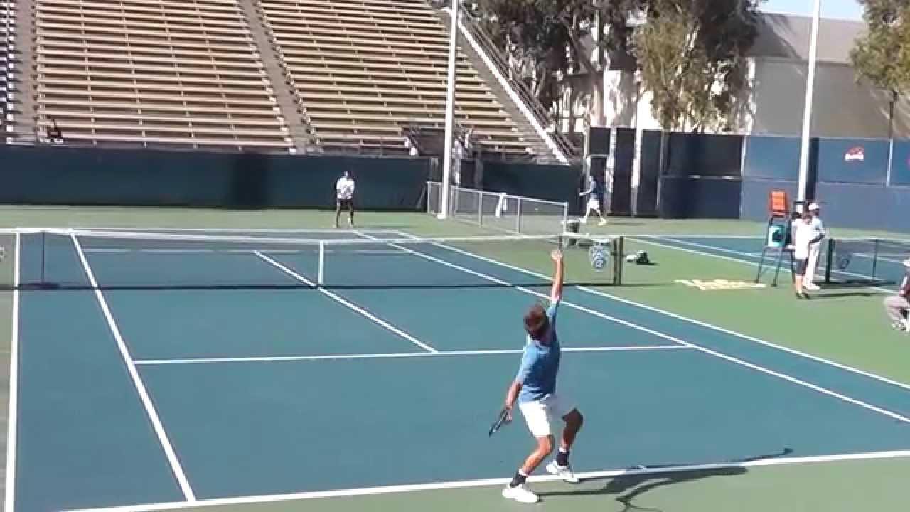 UCLA tennis 04/16/14 vs UCSD #2 singles
