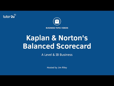 Business Strategy: Kaplan & Norton's Balanced Scorecard