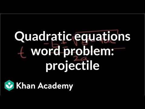 solving problems algebraically