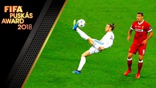 Video FIFA Puskas 2018 ᴴᴰ • 100 Amazing Goals of the Season 2017/18 MP3, 3GP, MP4, WEBM, AVI, FLV Agustus 2018