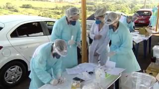 Bauru confirma 56 casos de Covid-19 durante testes rápido no Sambódromo