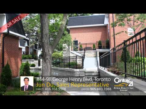 98 George Henry Blvd 44, Toronto – Home for Sale by: Jun Du, Sales Representative