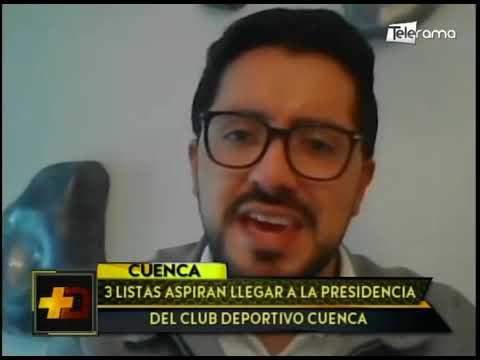 3 listas aspiran llegar a la presidencia del club Deportivo Cuenca