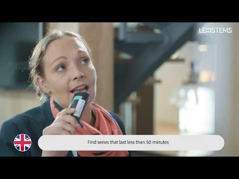 LEXISTEMS SensibleTV Demo - IBC 2018.